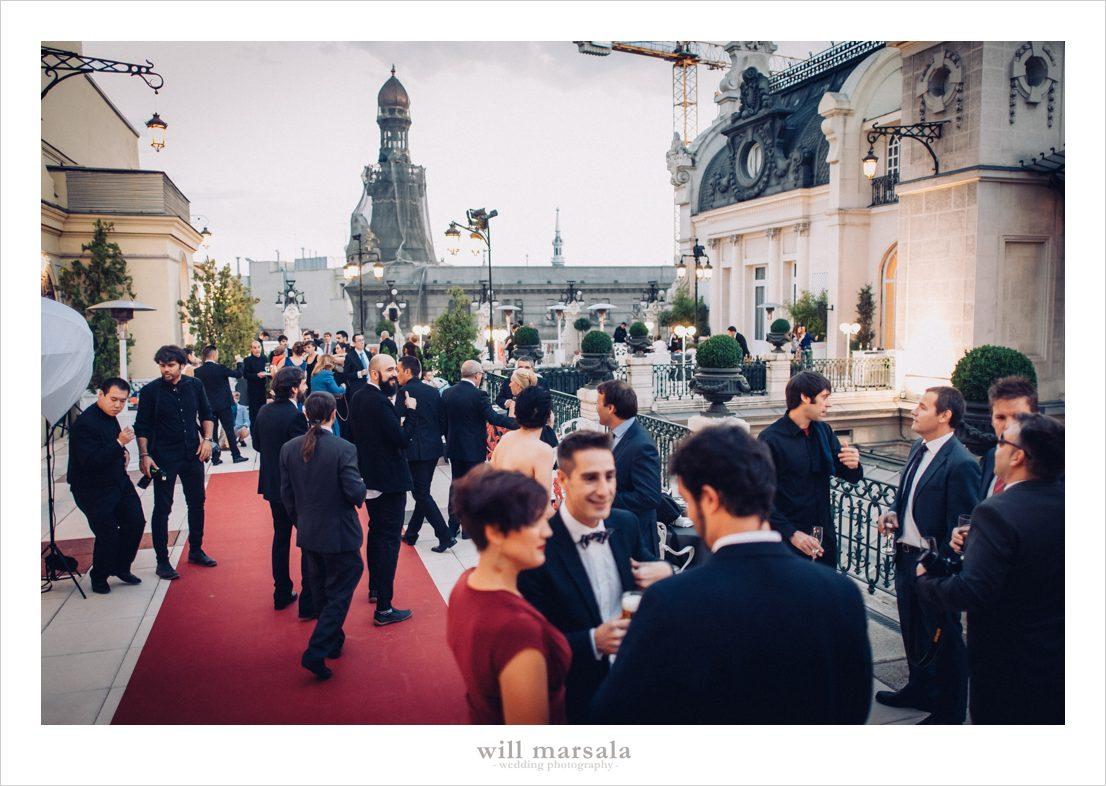 boda en el casino de madrid