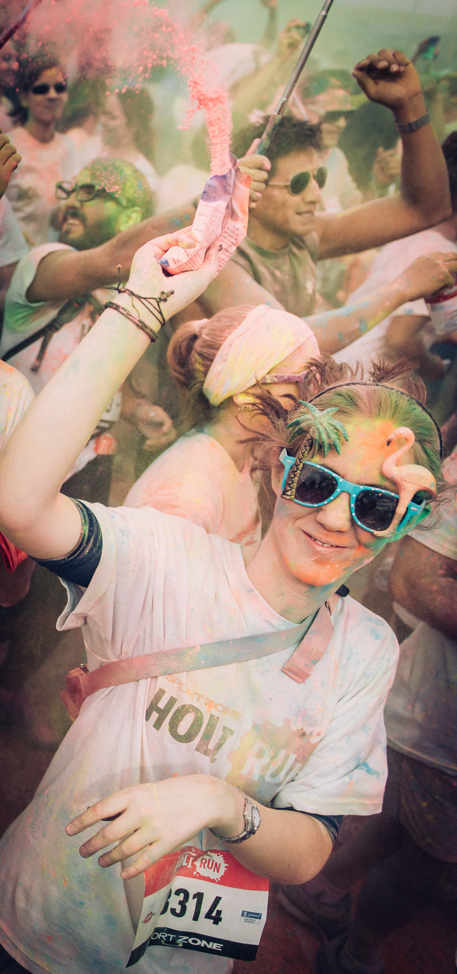 Will Marsala Holi Run Madrid Fiesta de Colores Hindú-016