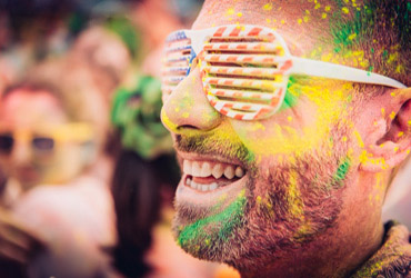 carrera holi run madrid fiesta de los colores will marsala